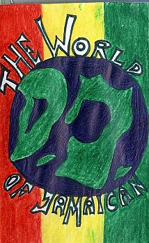x-mas tape world of Jamaican D.J.